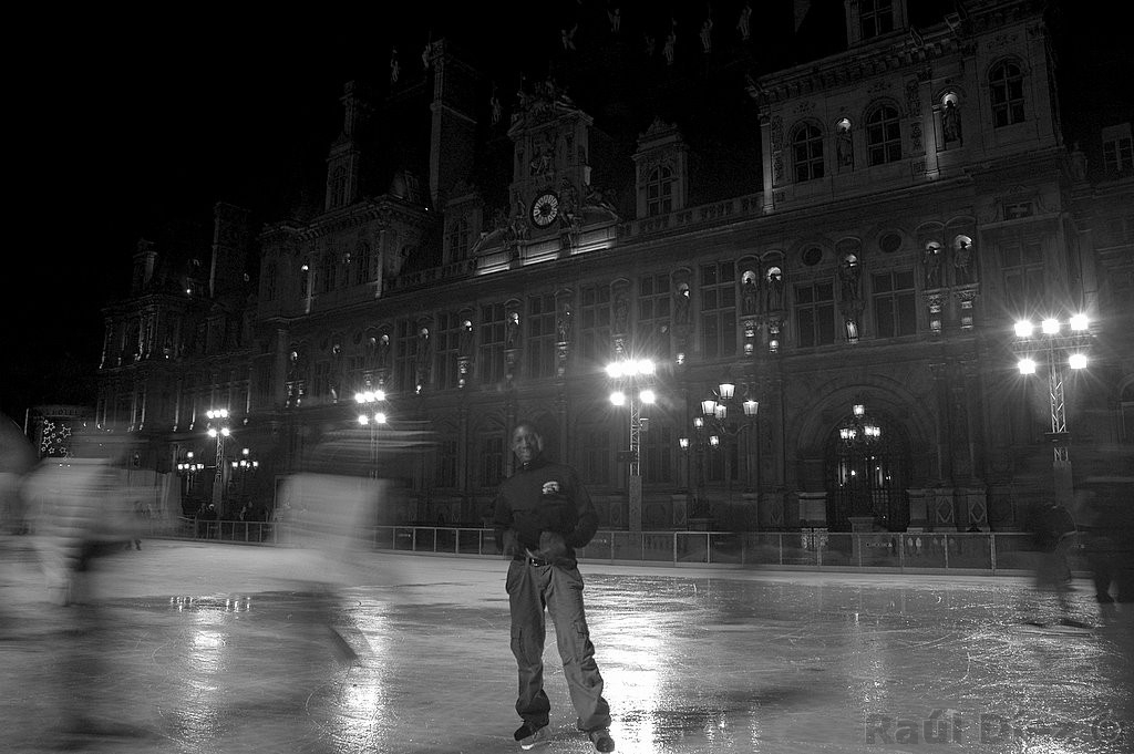 patinando en Paris